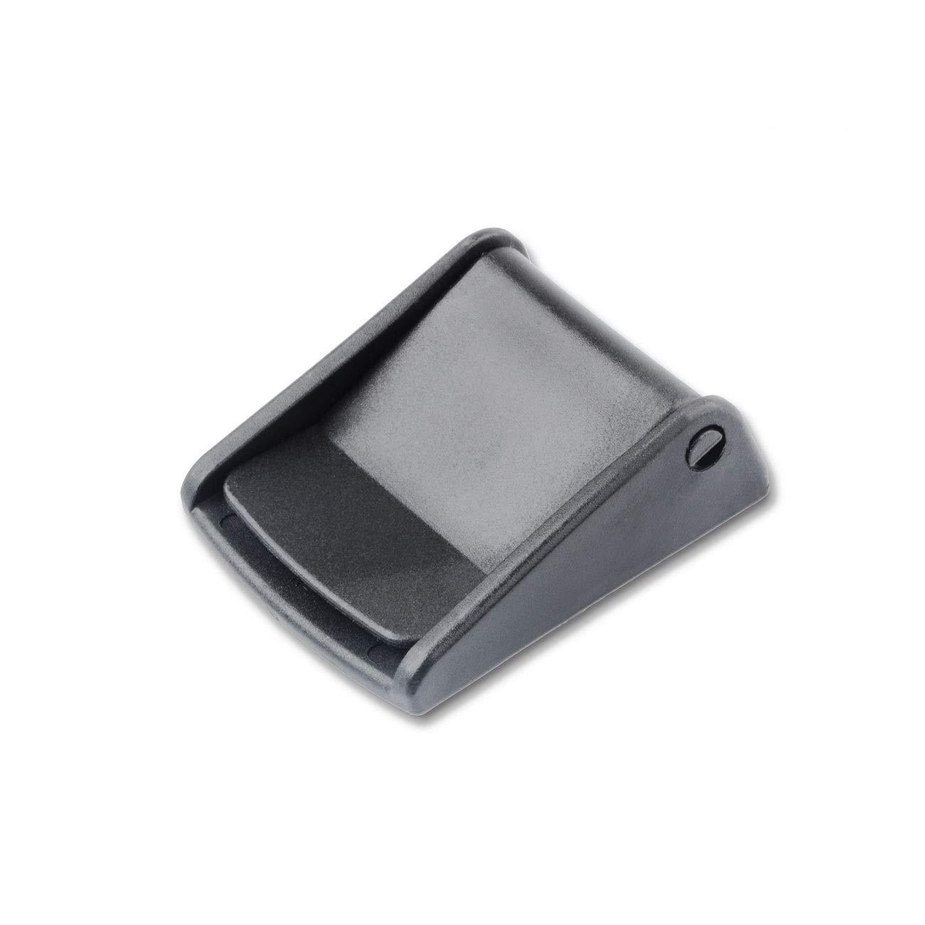 2PCS,32mm Multi-Size Cam Buckle Webbing Buckle Plastic Adjustable Buckles Toggle Clip