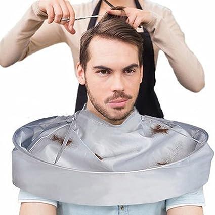 Myfei doble capa de corte de pelo de salón de peluquería capa, resistente al agua DIY Peluquería corte de pelo profesional, especial estilo accesorios: Amazon.es: Belleza