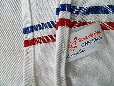5 trapos De cocina-toallas De mano, diseño De 100% algodón, 60 x 60 cm: Amazon.es: Hogar