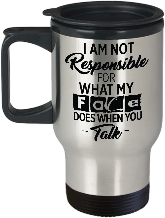 com funny travel mug funny quotes i am not responsible
