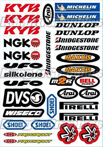 dirtbike racing numbers - 5