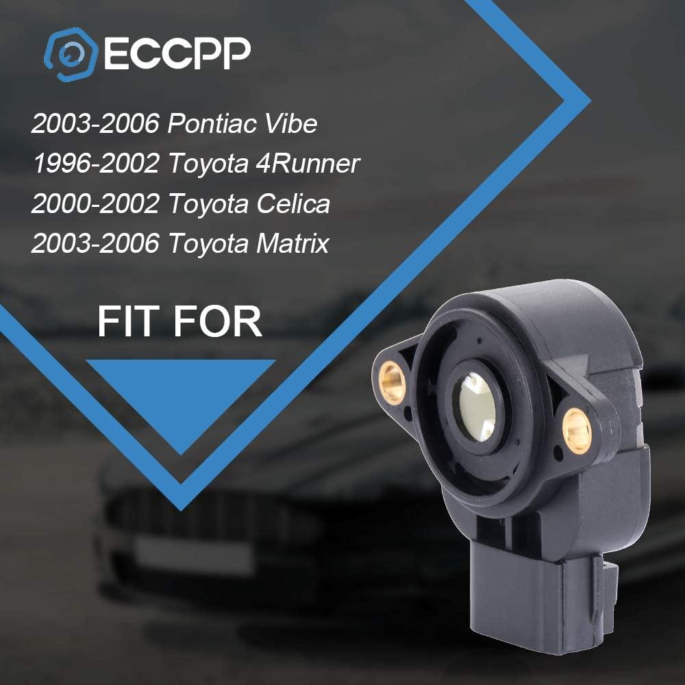 ECCPP 2PCS Throttle Position Sensor Fit For 2003-2006 Pontiac Vibe ...