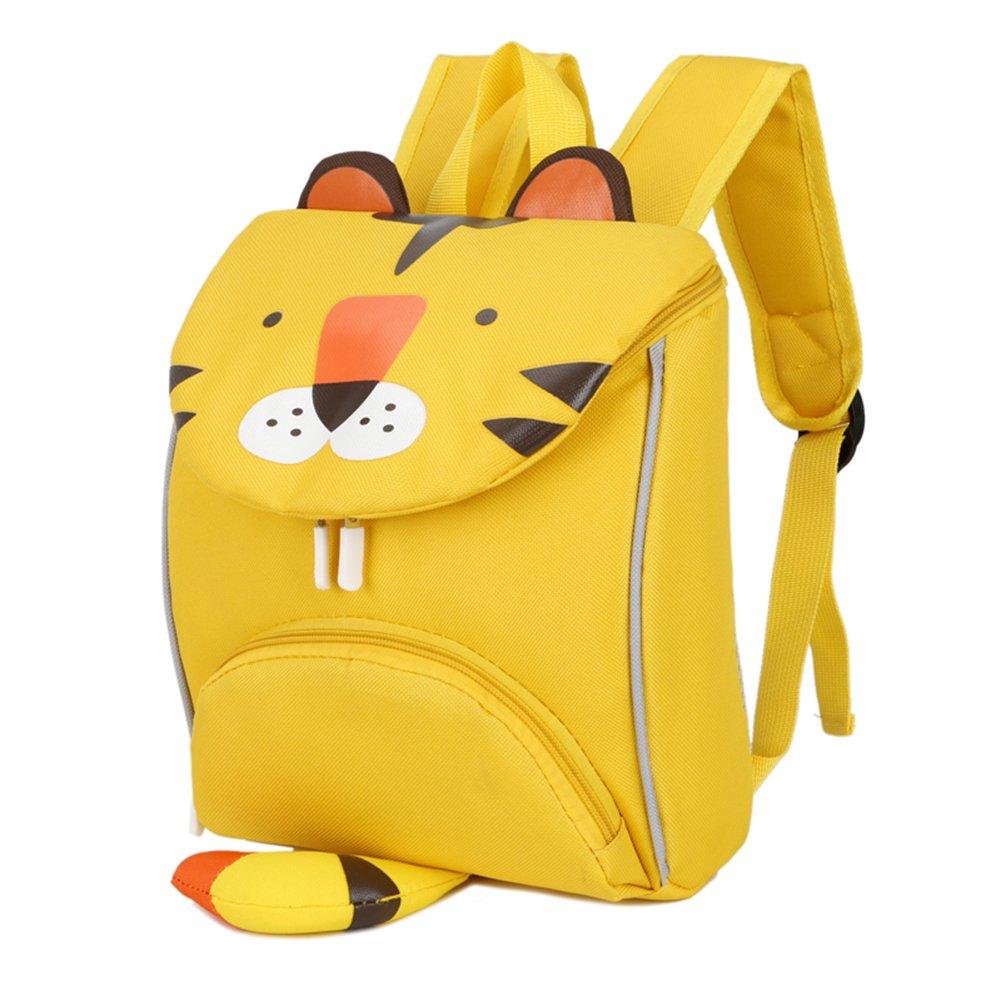 Luerme Kids Backpacks Toddle Boys Girls Preschool Bag Cute Cartoon Children School Bag Rucksack (Yellow)