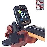 eno Professional Violin Viola Tuner Colorful Lcd Display Easy Control Clip On Accurate Violin Tuner ET-05SV