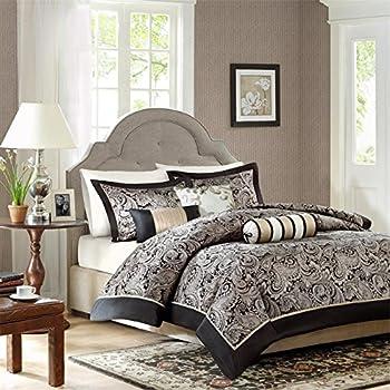 madison park mp12855 aubrey 6 piece duvet cover set king