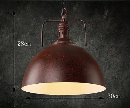Plafoniere Industriali Diametro 30 : Gzd retro venti industriali lampadario bar coperchio paralume