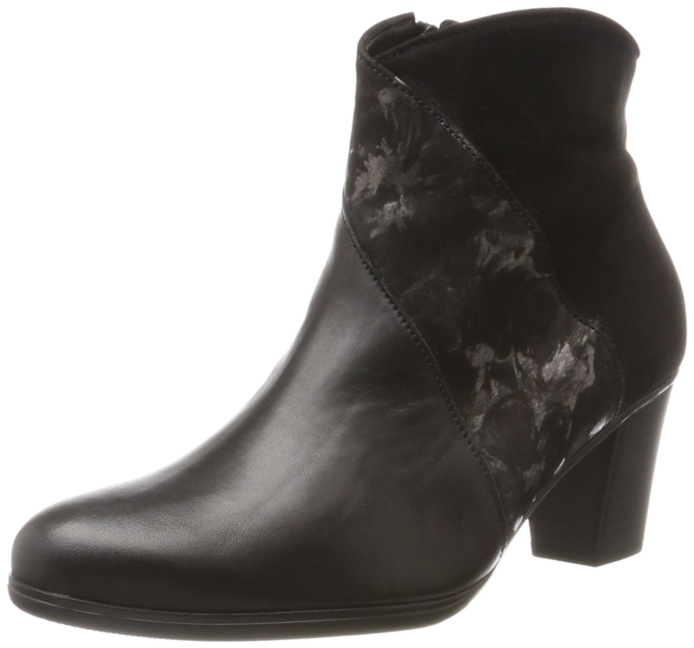 Gabor Shoes Gabor Basic, Botas para Mujer40 EU|Negro (37 Schwarz/Anthrazit)