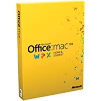 Office Mac Home and Student 2011 - Family Pack (3 Licenses)