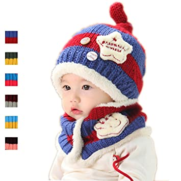 Amazon.com  Pretty Wool Scarf Hat Sets 3043d55b49b