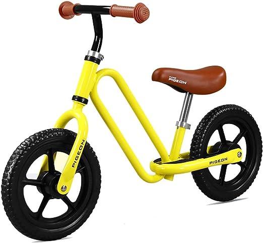ZAQ - Bicicleta de Empuje con asa para niños pequeños, Perfecta como Regalo de Primera Bicicleta o cumpleaños, Juguetes Seguros para niños de 2 años, Ideal para Bicicleta de bebé: Amazon.es: Hogar