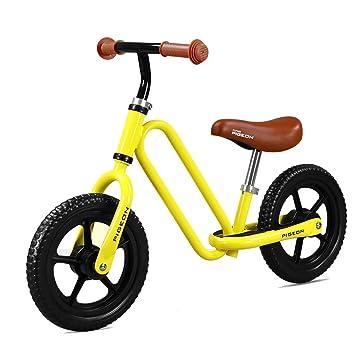 Bicicleta sin pedales Bici Bicicleta de Empuje para niños pequeños con asa Primera Bicicleta o Regalo de cumpleaños, Juguetes para Montar Seguros para niños ...