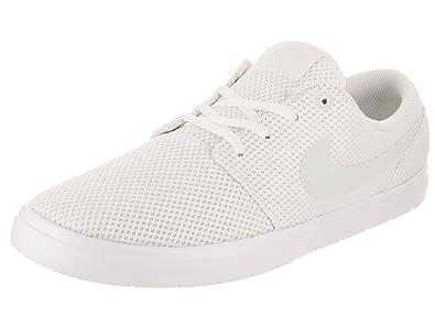56ed5dbf4ad281 Nike Men s SB Portmore II Ultralight White Barley Grey Skate Shoe 8 Men US