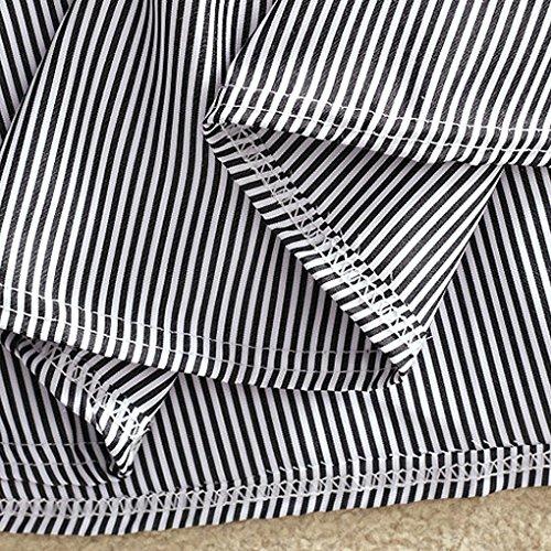 Estate Dalla Vestito Cotone Abbigliamento T Pulsante Ragazze Strapnero Donne Providethebest shirt Banda Vestitino Nero Delle 2xl xroBdCWe