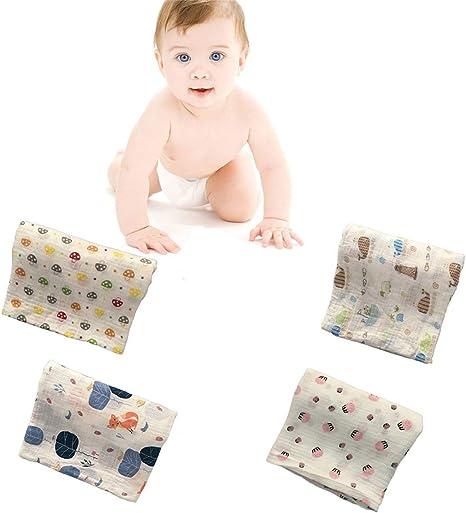 120x120cm Muselina manta envoltura para bebés envoltura para bebés ...