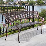 Bainbridge Outdoor Copper Bench For Sale