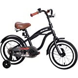 """JOYSTAR 12"""" 14"""" 16"""" Kids Cruiser Bike with Training Wheels for Ages 2-6 Years Old Girls & Boys, Toddler Kids Bicycle"""