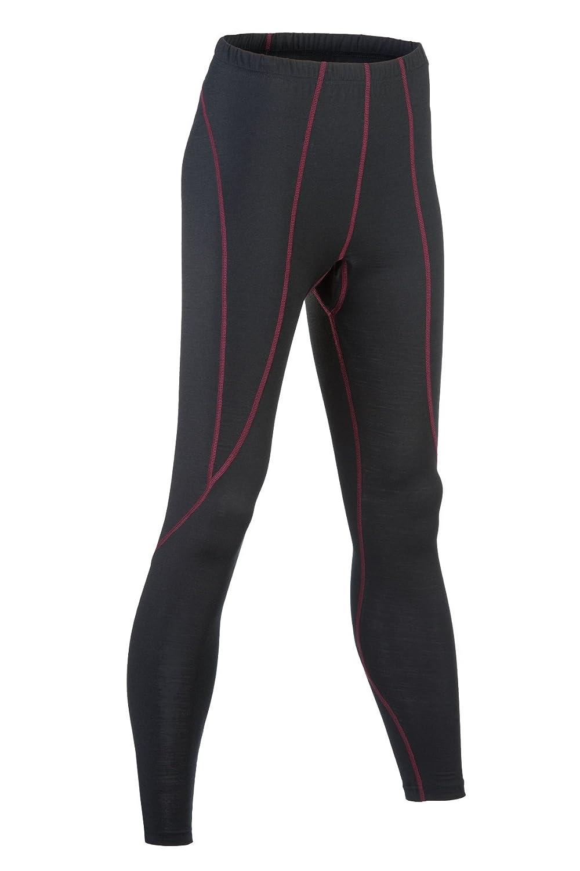 Engel Sports Bio Funktionskleidung Damen Leggings aus Bio Merinowolle und Seide mit Elasthananteil