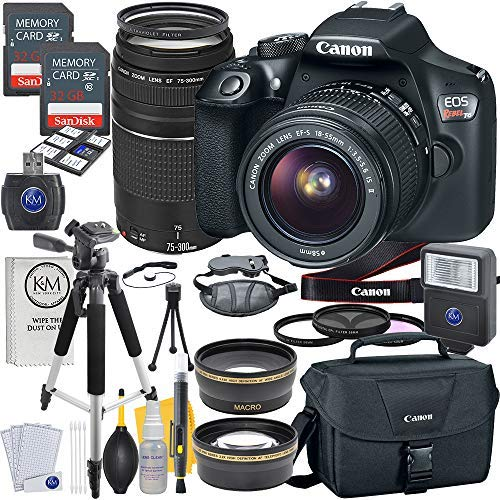 Canon EOS Rebel T6 DSLR Camera w/ EF-S...