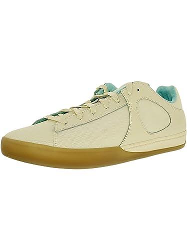 3fab1217ec85c1 PUMA Men s MCQ Step Lo Whisper White Ankle-High Canvas Fashion Sneaker - 8M
