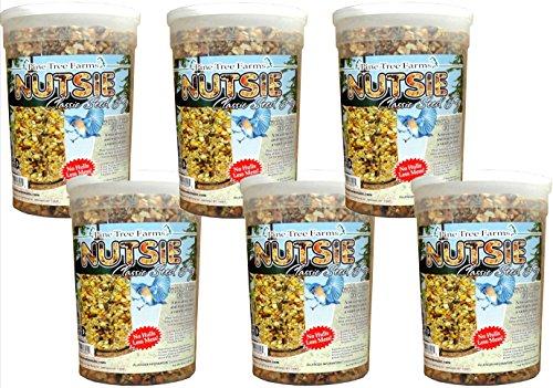Pine Tree Farms Nutsie Classic Seed Log, 5 lbs., Pack of 6