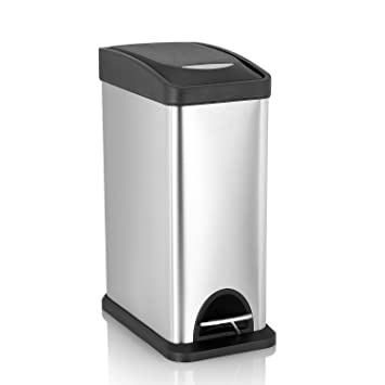Amazoncom Fortune Candy Step Trash Cancarbon Steel Garbage Can