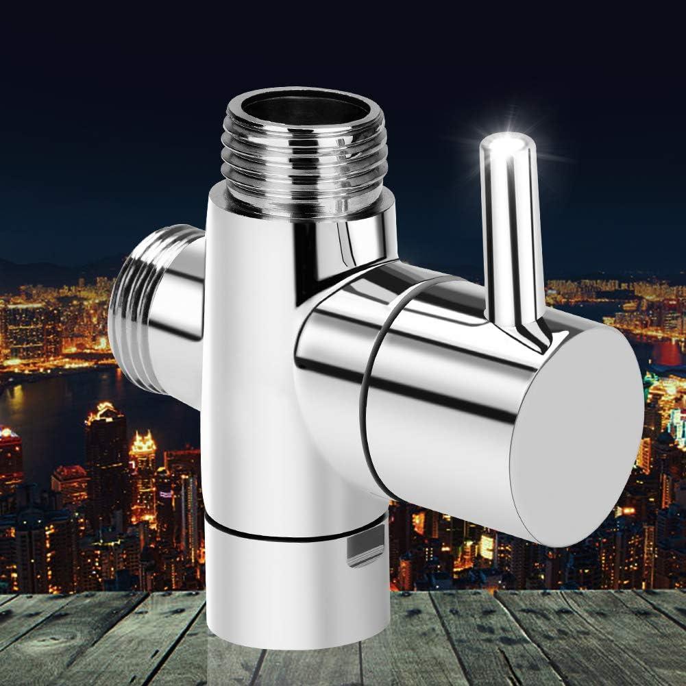 Linkax V/álvula de 3 v/ías G1//2 V/álvula desviadora V/álvula de Ducha para recambio de sistema de ducha
