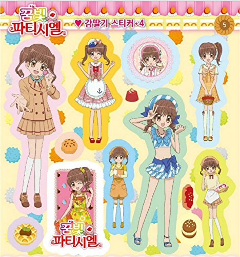 Yumeiro Patissiere Sticker Mini Book Deco Diary 273 Pieces Animation Character