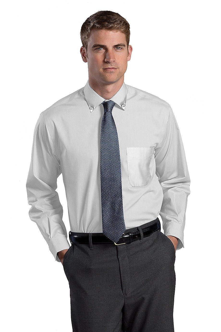 Edwards Garment Mens Button Down Traditional Dress Shirt/_WHITE/_6XL 37
