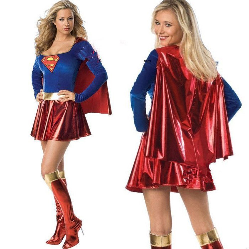 Halloween Costume superwoman cloak with