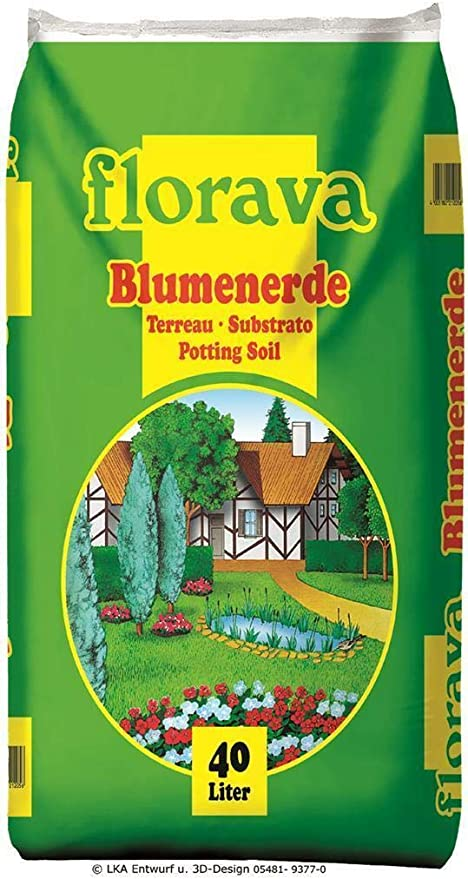 Florava - Tierra para macetas (40 L): Amazon.es: Jardín