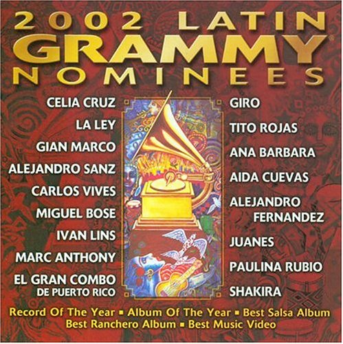 2002 Latin Grammy Nominees by Warner Music Latina