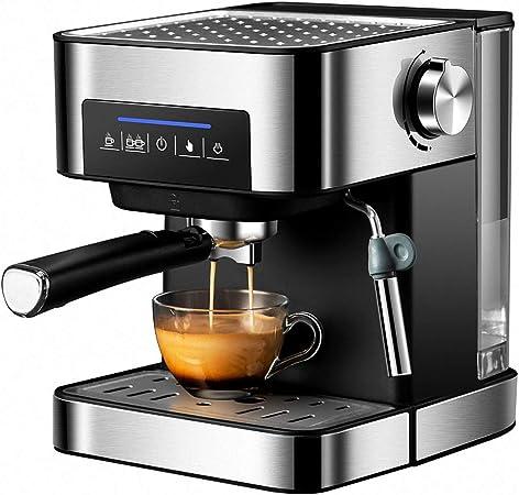 CBA BING Súper Automática Espresso/Cafetera, Caja de Seguridad con Leche vaporizador, cálido Superior para la colocación de la Copa: Amazon.es: Hogar