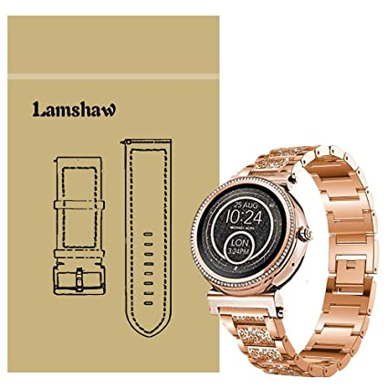 Amazon.com: Compatible con Michael Kors Sofie Band, Blueshaw ...