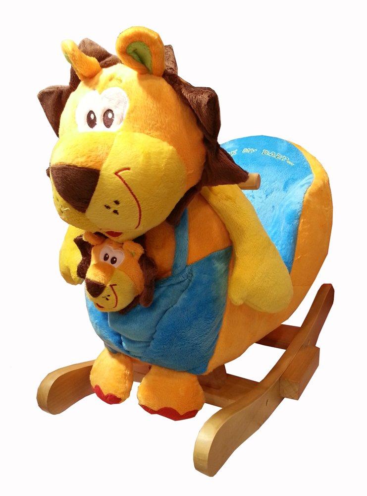 2 in 1 Schaukeltier, »Löwe Superkimba mit Baby«, Torro