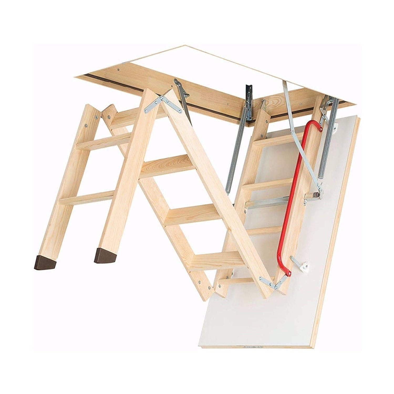 LWS Smart, 55 x 111 x 280 cm Dachbodentreppe Ged/ämmte Bodentreppe mit LXL Abdeckleisten und LXK Montagewinkel Viele Gr/ö/ßen und Modellen Speichertreppe