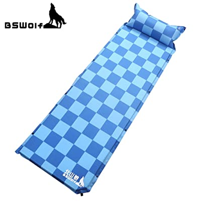 Kitayama loup série extérieur Schtroumpfs automatique tapis de sol gonflable tente humidité pad épaississement élargissement Camping