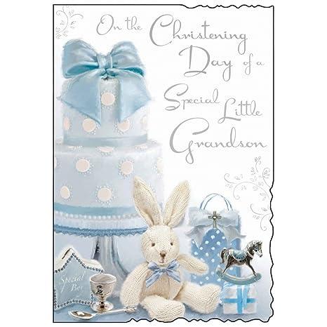 Amazon.com: El bautizo Día de una tarjeta especial de Little ...