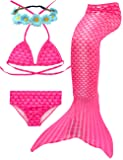 3 Pcs Mermaid Tails for Swimming for Girls Can