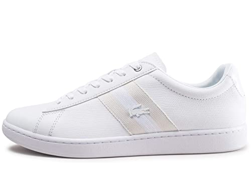 3bdae3071b Lacoste Carnaby Evo 119 5 SMA Trainers White: Amazon.co.uk: Shoes & Bags