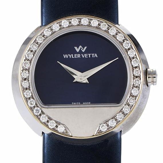 Wyler VETTA Wyler VETTA cuarzo mujer reloj 8159280016 (Certificado) de segunda mano: Wyler Vetta: Amazon.es: Relojes