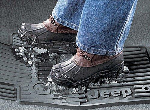 08-10 jeep liberty slush style floor mats slate gray (Grays 10 Floor Mat)