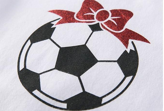 Chica Hare World Cup Soccer Baby Girl Manga Corta triángulo Mono ...