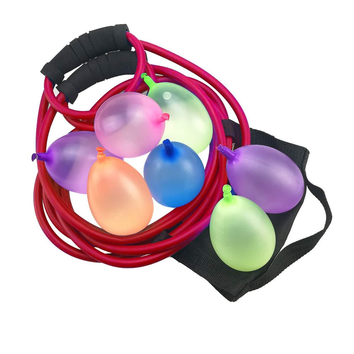 KOMVOX Water Balloon Launcher 400 Yard Long Range, 3 Person Balloon Large Slingshot Trebuchet, Tshirt Slingshot Launcher, Water Cannons Yard Toys, 500 Balloons Included by KOMVOX (Image #4)