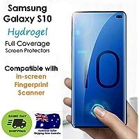 Samsung Galaxy S10 HYDROGEL NTPU 3D Premium Full Cover Screen Protector   Easy Application   Case Friendly