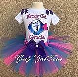 Vampirina Girls Birthday Outfit Tutu Outfit Dress Set