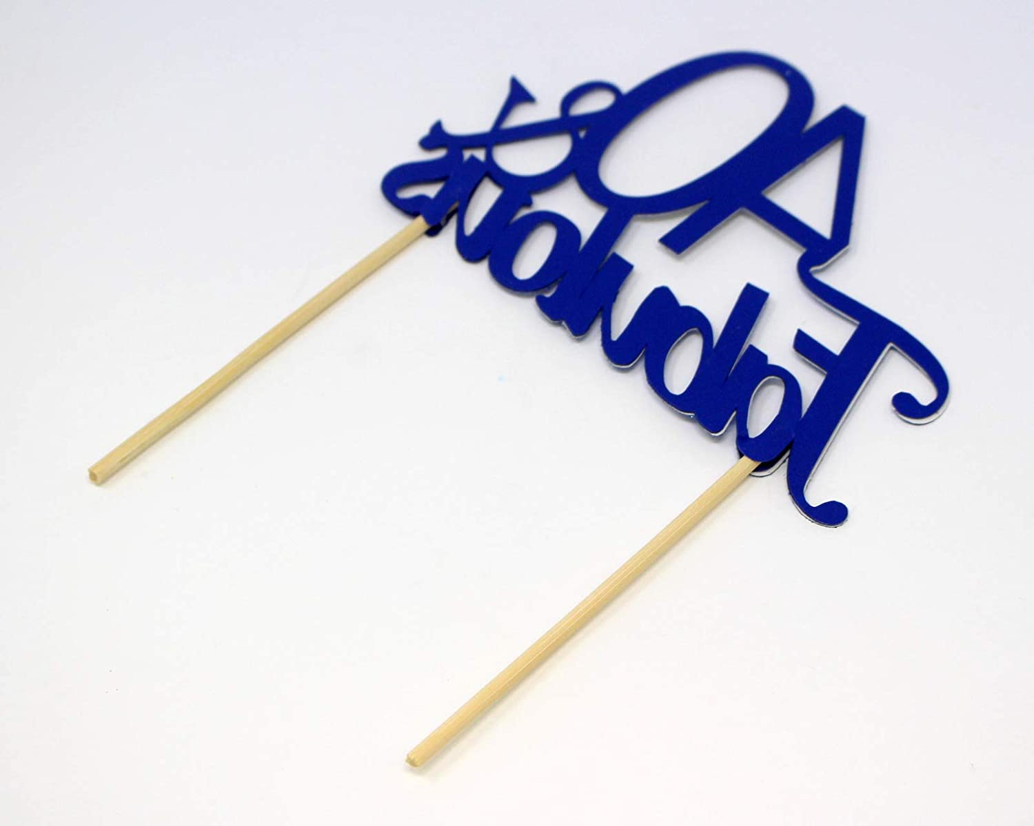 All About Details Silver 40-/&-Fabulous Cake Topper 6295426