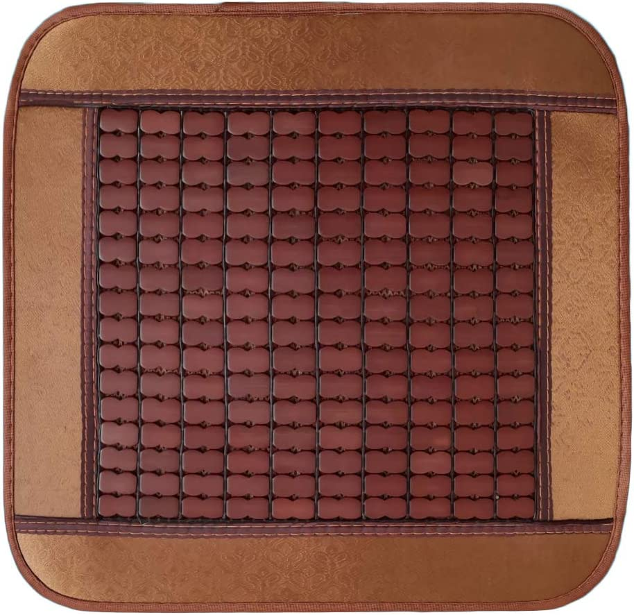 Accordy Bamboo Seat Cushion/Bamboo Cool Cushions for Car Seats, Home Sofas, and Office Chairs
