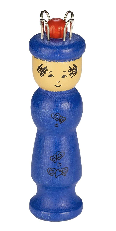 Drewa Holzspielwaren Strickliesel Kinder Stricken Lernen Blau