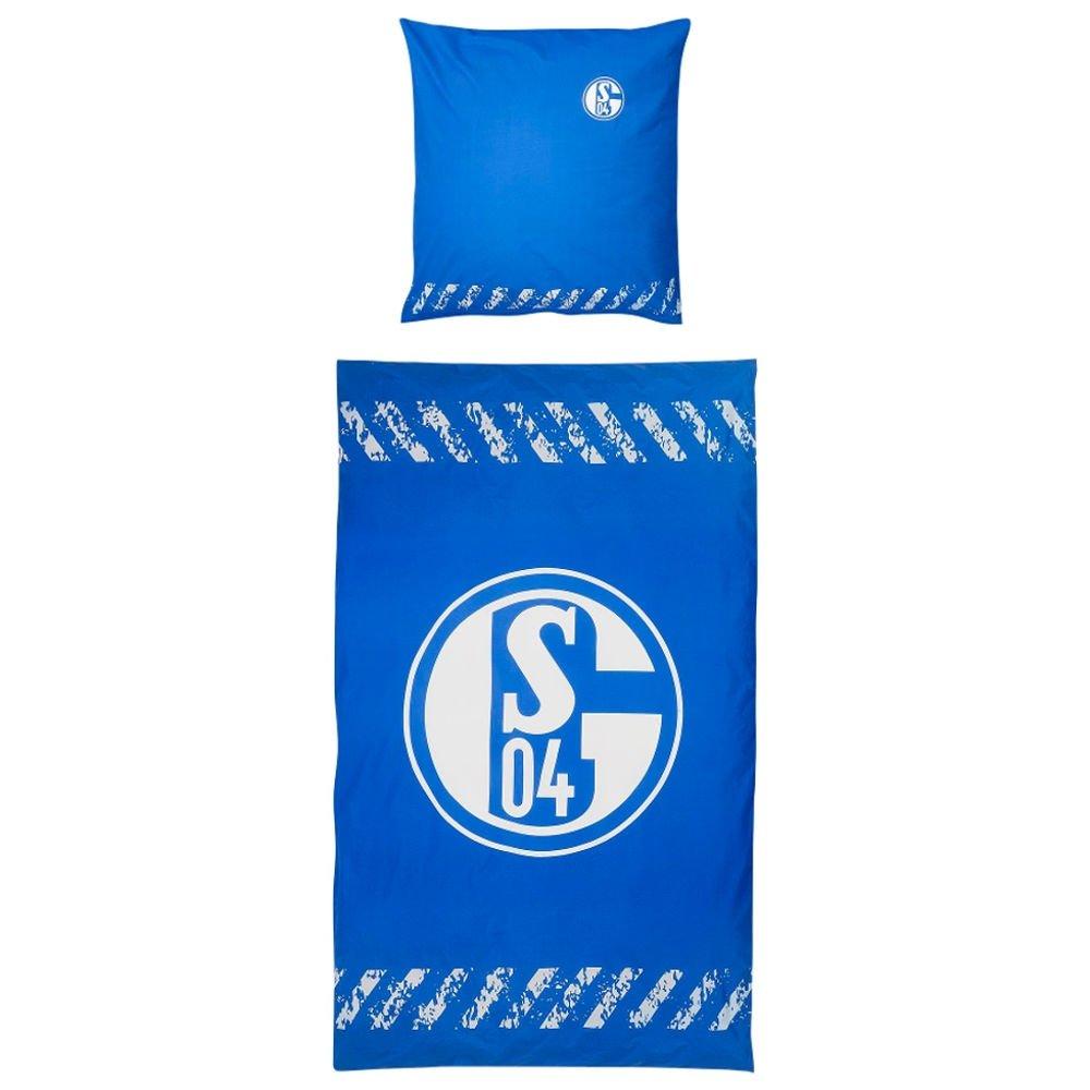 FC Schalke 04 Bettwä sche Signet Glow 135x200 cm