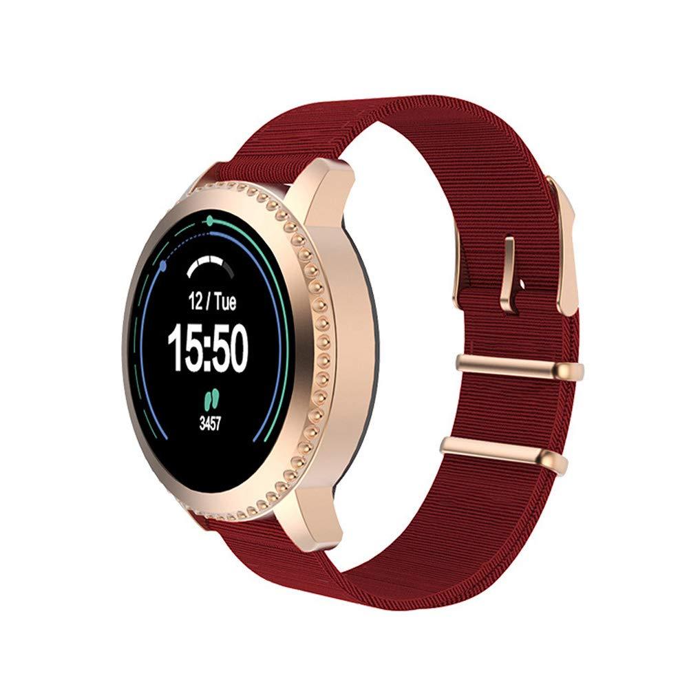 HSKK Smart Bracelet, Heart Rate Blood Pressure Health Monitoring Waterproof Sports Bluetooth Bracelet-3 by HSKK